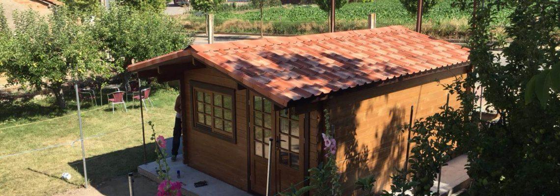 Caseta de Jardín en Tirgo (La Rioja)